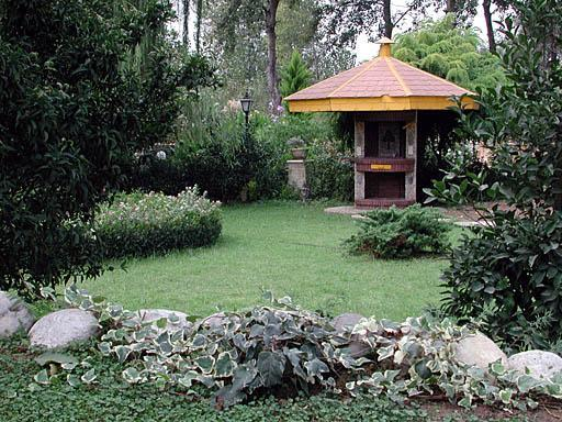 Private garden at Shahrak Ferdows