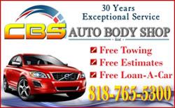 CBS Auto Body Shop Inc Logo