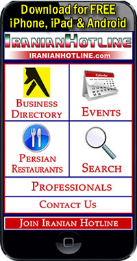Iranian-American information, Businesses, Professioanls, Events and more at the tip of your finger on your mobile devices!